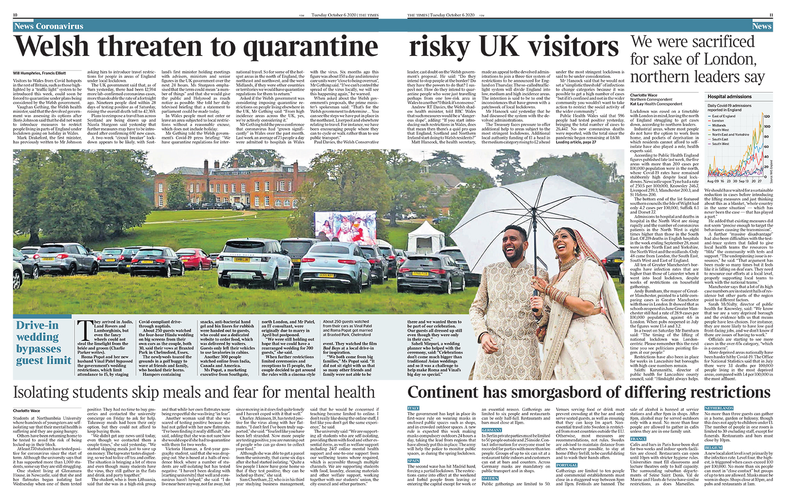 The Times 5th October 2020 - Saheli Events